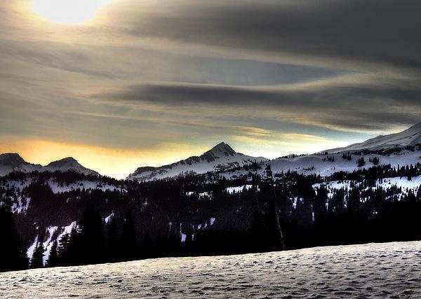 Peter Mooyman - Looking West at Pyramid Peak