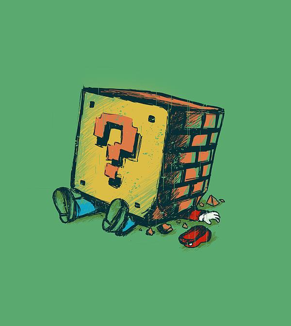 Loose Brick Print by Budi Kwan