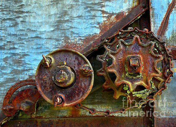 Loose Gears Print by Newel Hunter