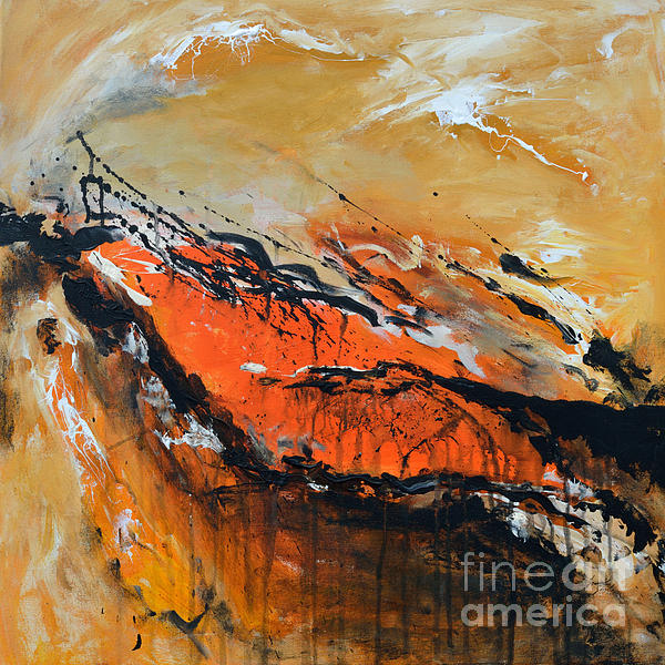 Lost Hope - Abstract Print by Ismeta Gruenwald