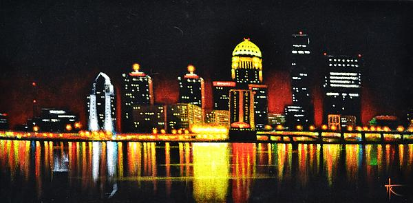 Louisville Print by Thomas Kolendra