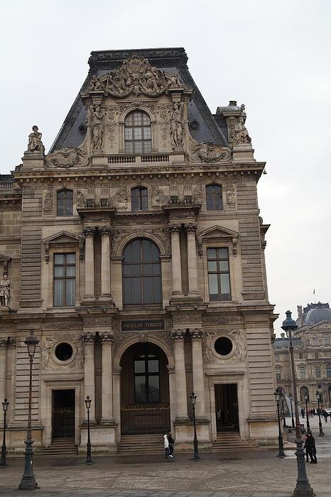 Louvre - Paris France - 011320 Print by DC Photographer