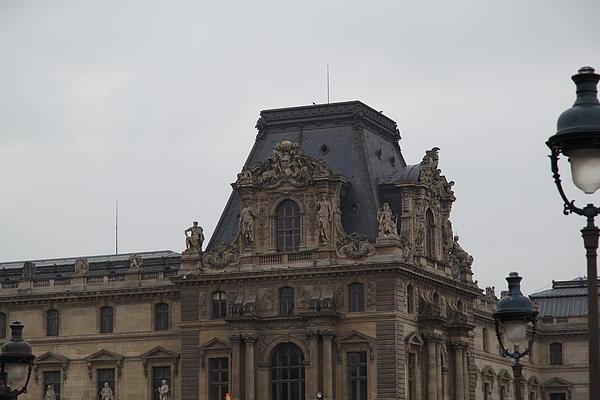 Louvre - Paris France - 011321 Print by DC Photographer