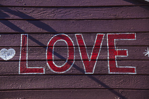 Love Print by Garry Gay