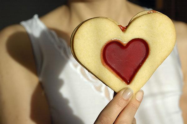 Love Heart Valentine Print by Matthias Hauser