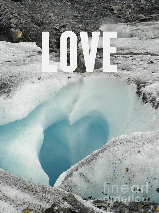 Love Print by Jennifer Kimberly