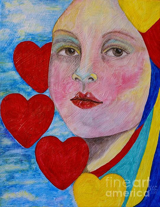 Love Me Do  Print by Jane Chesnut