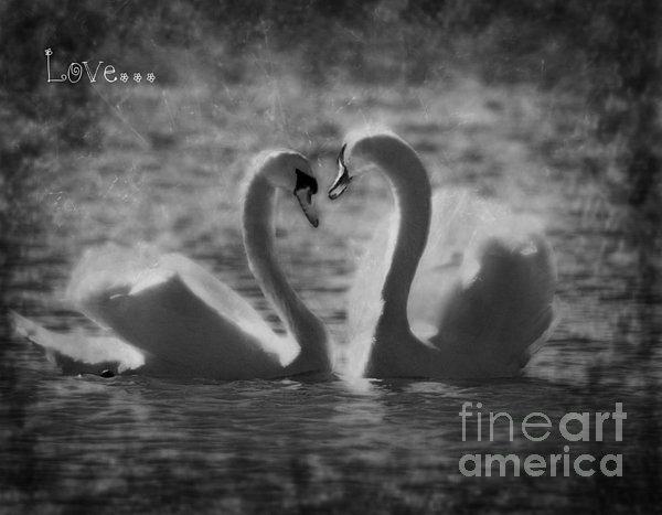 Love... Print by Nina Stavlund