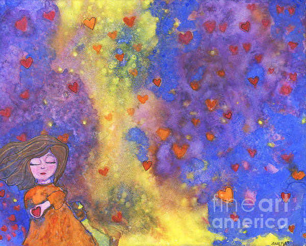 Love Will Find You Print by AnaLisa Rutstein