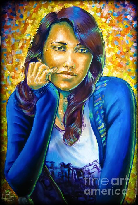 Love Print by Yonan Fayez