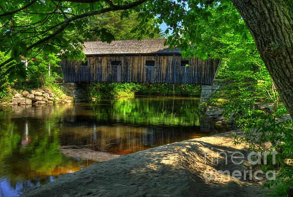 Mel Steinhauer - Lovejoy Covered Bridge 2