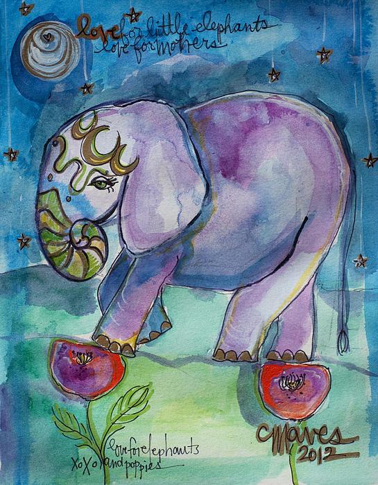 Laurie Maves - Lovely Little Elephant2
