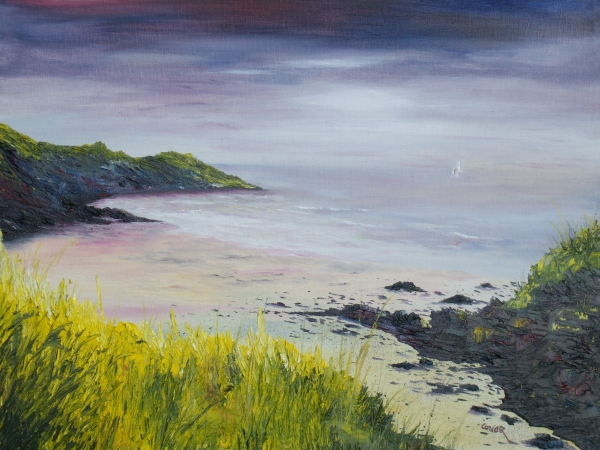 Lovers Cove Kinsale   Original Sold Print by Conor Murphy