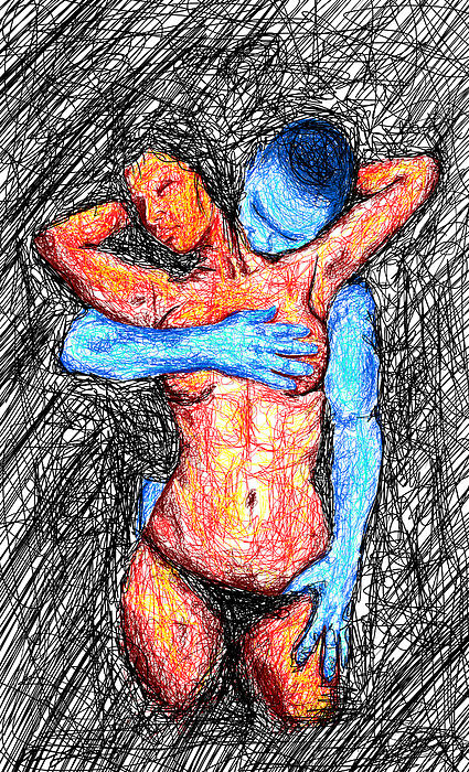 Lovers Wired Together  Print by Kenal Louis