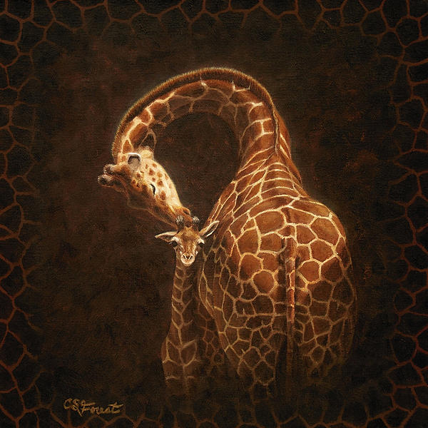Love's Golden Touch Print by Crista Forest