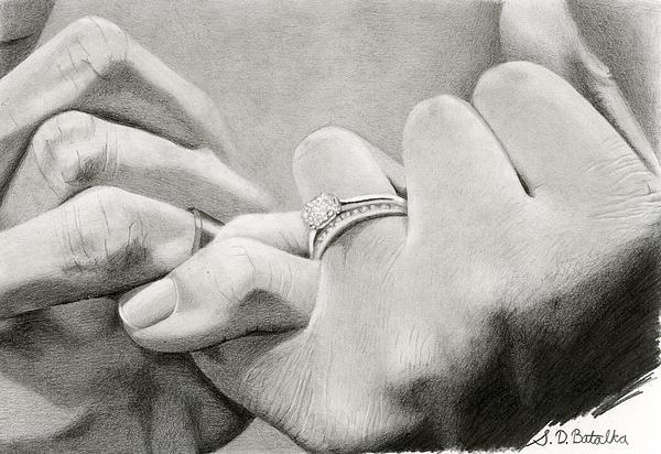 Love's Promise Print by Sarah Batalka