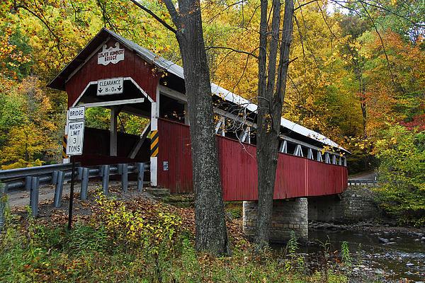 Lower Humbert Covered Bridge Print by Dan Myers