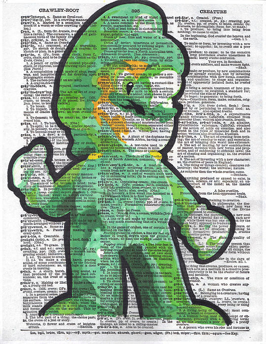 Luigi Print by Kyle Willis