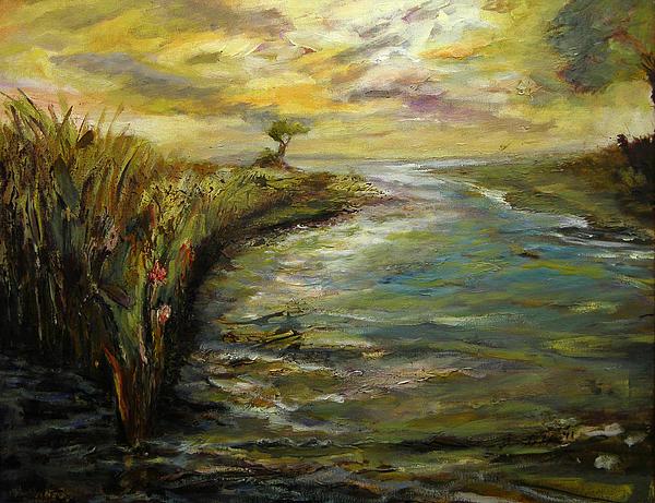 Luminous Sunrise 4 Print by Julianne Felton