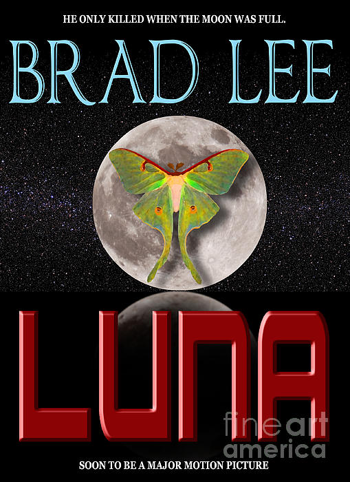 Luna Sample Book Jacket Print by Mike Nellums