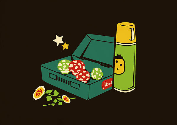 Lunch For All Print by Budi Satria Kwan
