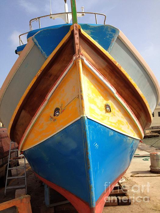 Noa Yerushalmi - Luzzu fishing boat