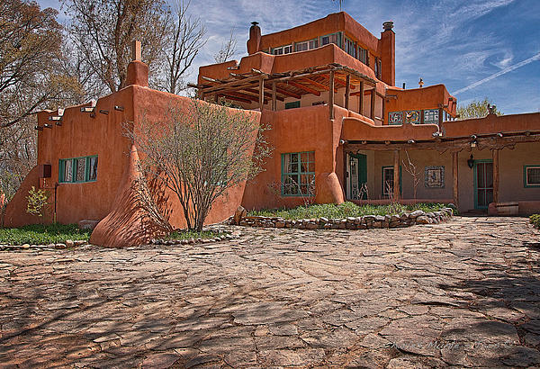 Mabel Dodge Luhan House  Print by Charles Muhle