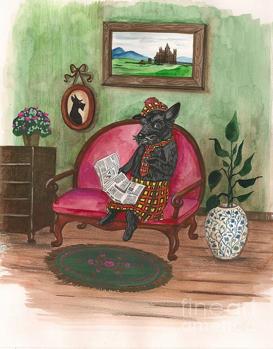 Macduff After Work Print by Margaryta Yermolayeva