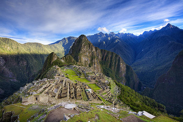 Machu Picchu Print by Alexey Stiop