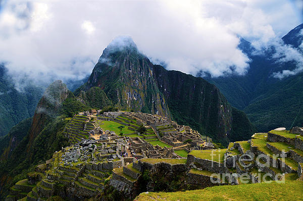Catherine Sherman - Machu Picchu On High