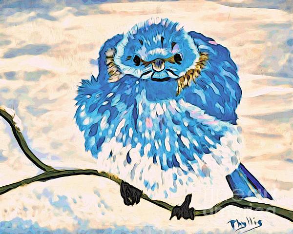 Phyllis Kaltenbach - Mad Angry Blue Bird