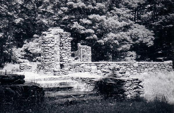 Madame Sherri Castle Ruins Print by David Fiske