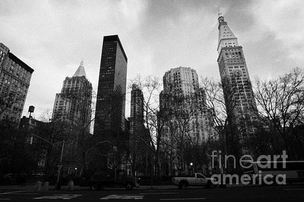 Madison Square Park Flatiron District New York City Print by Joe Fox