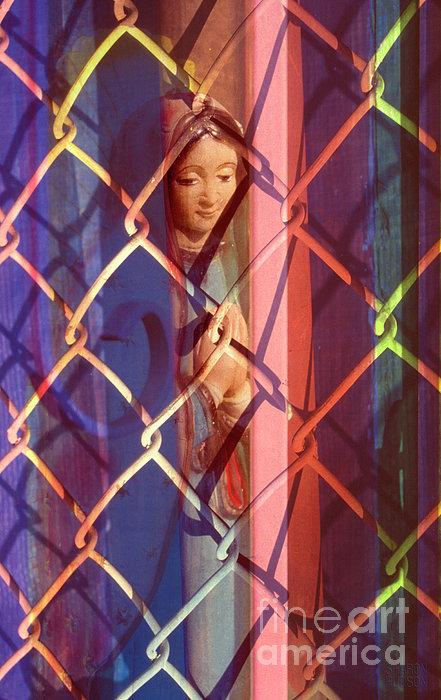 Madonna Photograph - The Virgin Print by Sharon Hudson