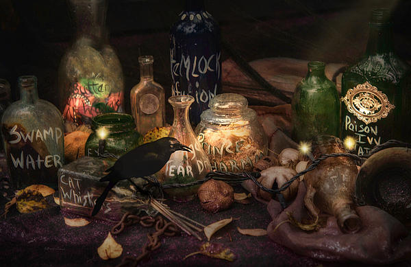 Magic Ingredients Print by Robin-lee Vieira