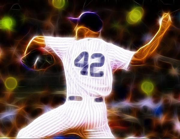 Magical Mariano Rivera Print by Paul Van Scott