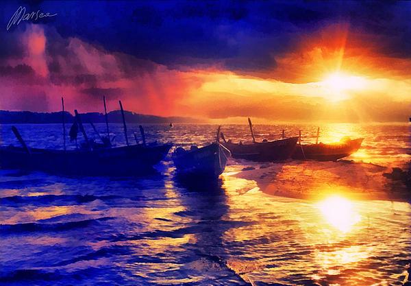 Marina Likholat - Magical sunset