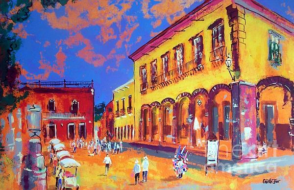 Cristiana Marinescu - Main plaza in small town