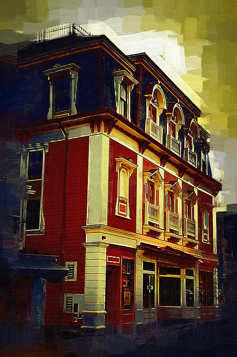Main Street Usa Print by Kirt Tisdale