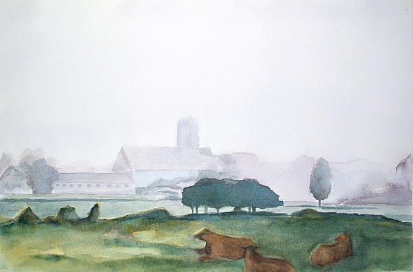 Maine Cathedral Print by Grace Keown
