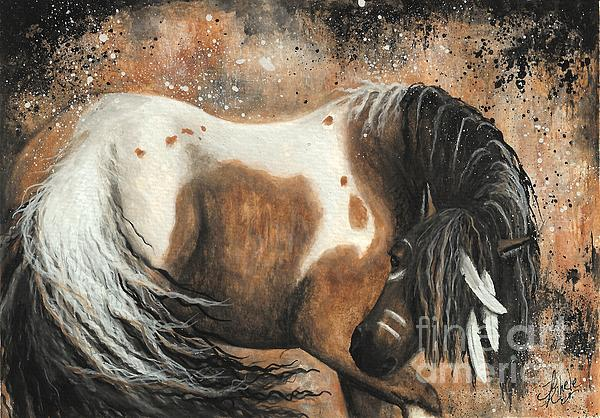 Majestic Horse Series 74 Print by AmyLyn Bihrle