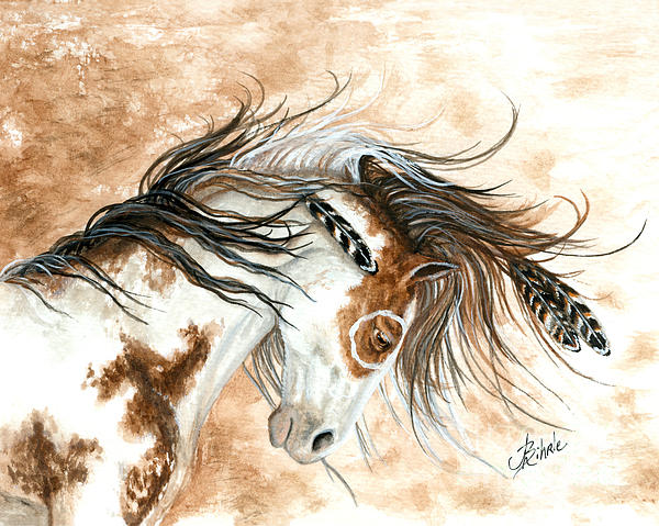 Majestic Horse Series 87 Print by AmyLyn Bihrle