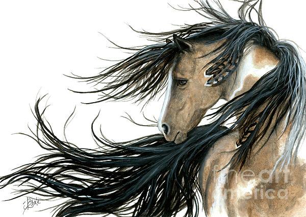 Majestic Horse Series 89 Print by AmyLyn Bihrle