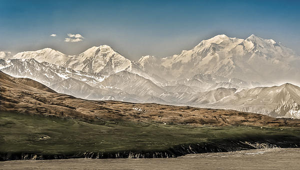 Majestic Mount Mckinley Print by Penny Lisowski