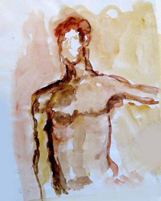 Male Torso Print by James Gallagher