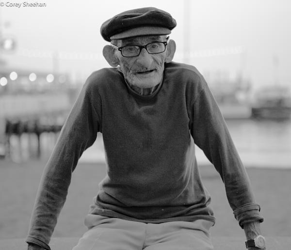 Man From Sorrento Print by Corey Sheehan