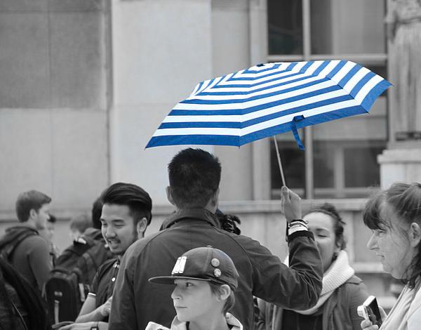 Dylan Stinson - Man with umbrella