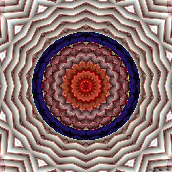 Mandala 10 Print by Terry Reynoldson