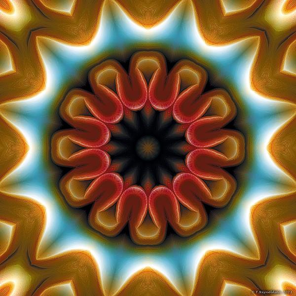 Mandala 100 Print by Terry Reynoldson