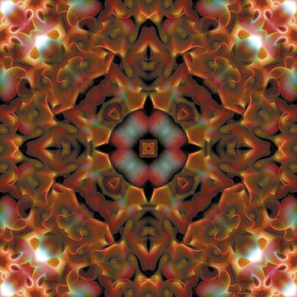 Mandala 119 Print by Terry Reynoldson